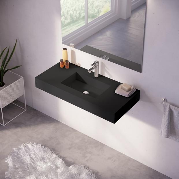 Baldas y lavabos suspendidos leroy merlin Muebles de lavabo online