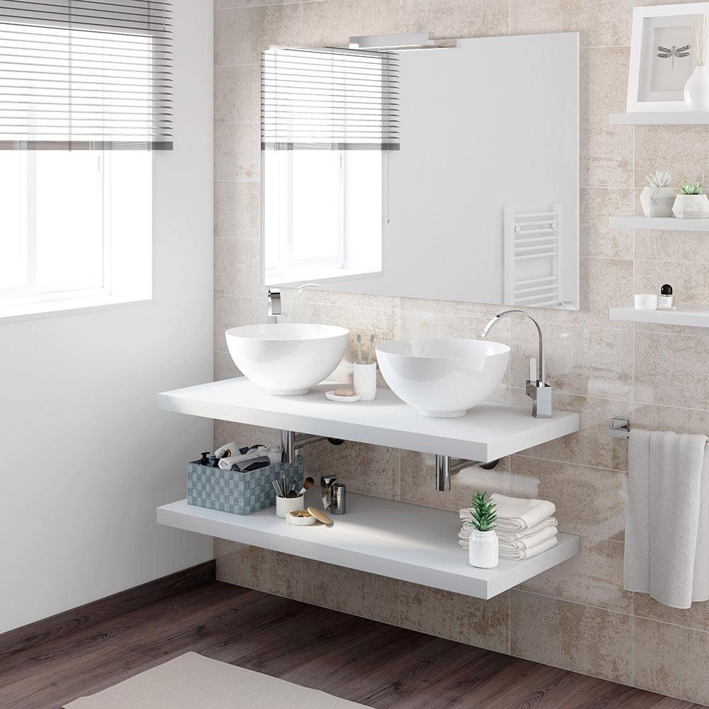 Mueble de lavabo onix ref 17886750 leroy merlin for Lavabo leroy merlin