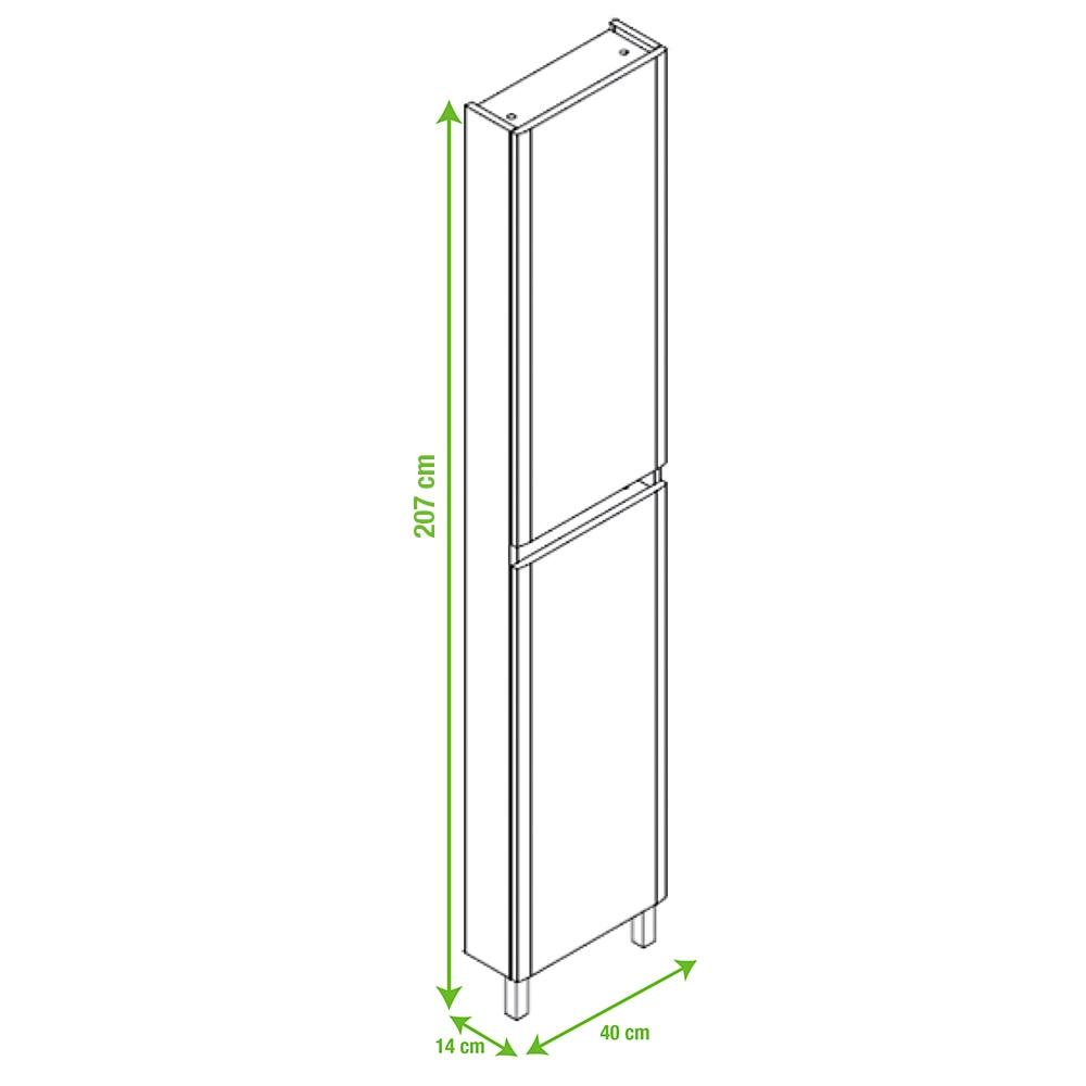 Mueble auxiliar de ba o serie atenea columna ref 15471302 - Mueble columna de bano ...