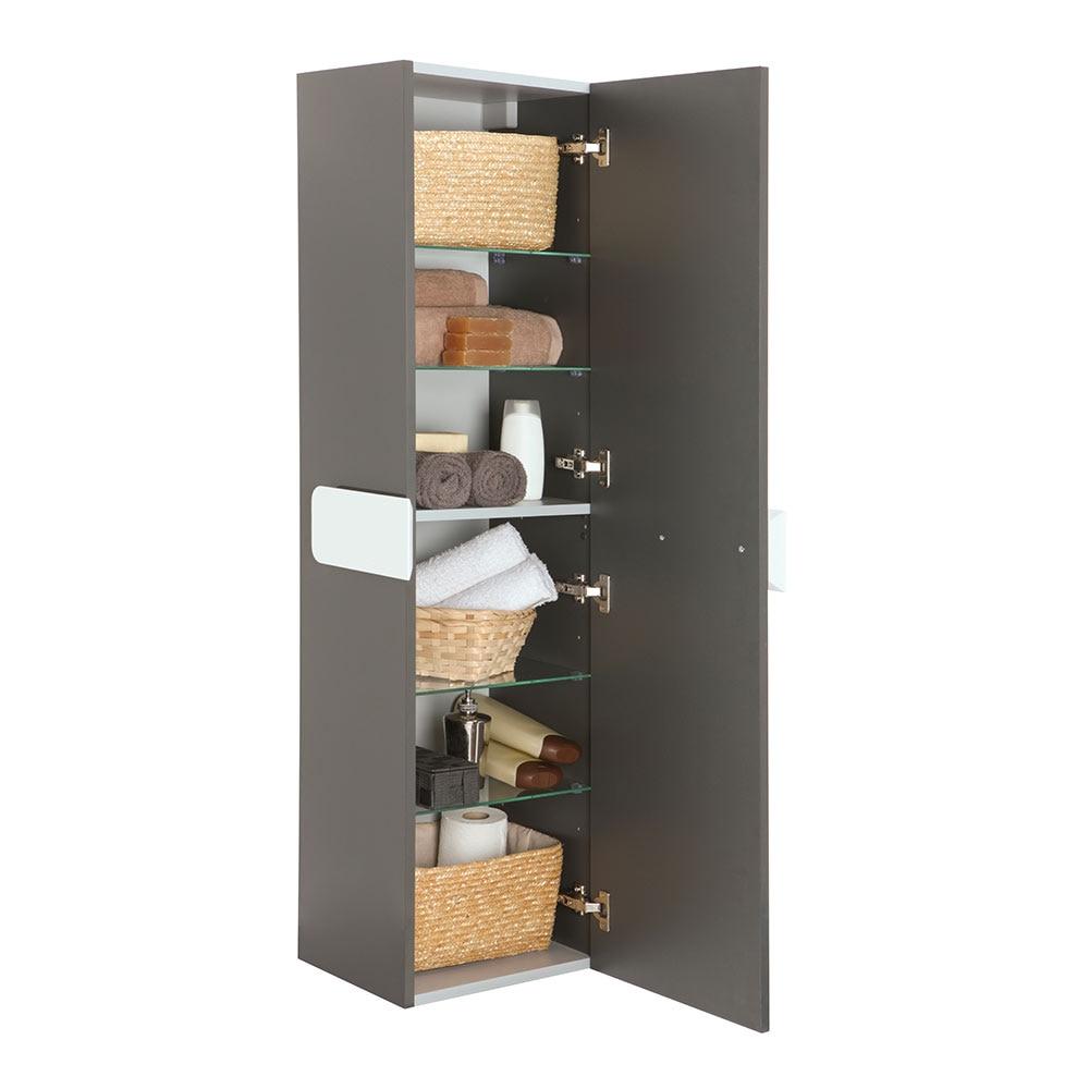 Mueble auxiliar de ba o serie brooklyn columna ref - Mueble columna de bano ...