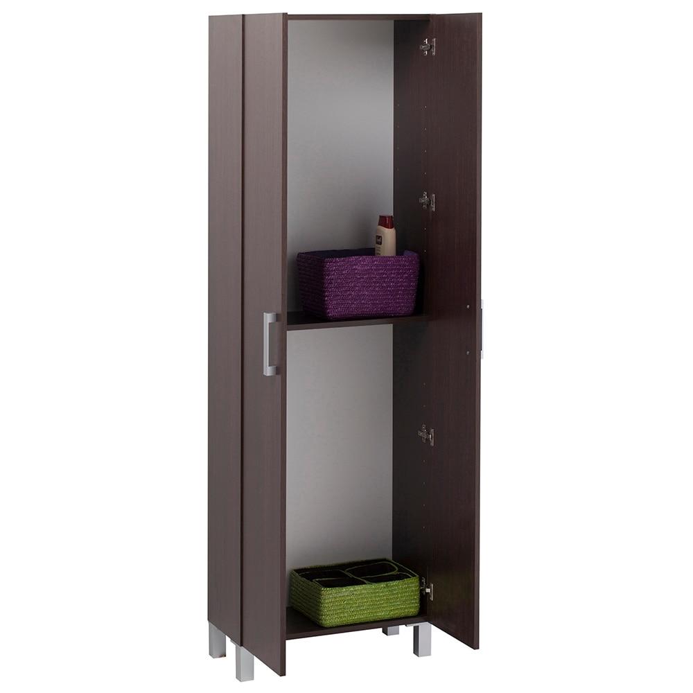 Mueble auxiliar de ba o serie capacity columna 2 puertas - Muebles columna para bano ...