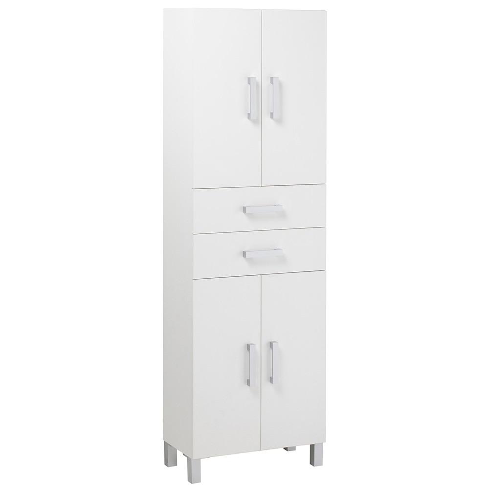 Mueble Baño Auxiliar | Mueble Auxiliar De Bano Serie Capacity Columna 4 Puertas Ref