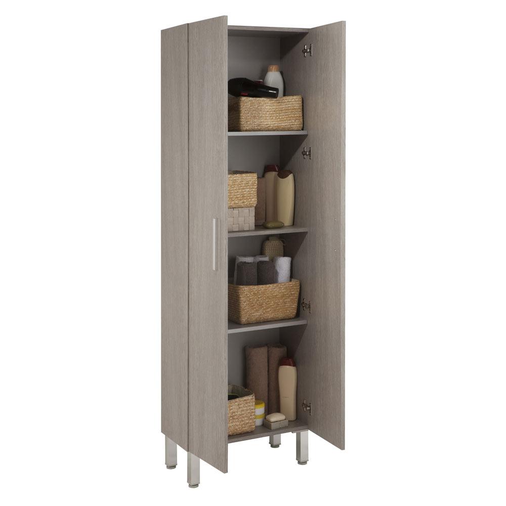 Mueble auxiliar de ba o serie madrid columna ref 17982314 leroy merlin - Muebles auxiliares madrid ...