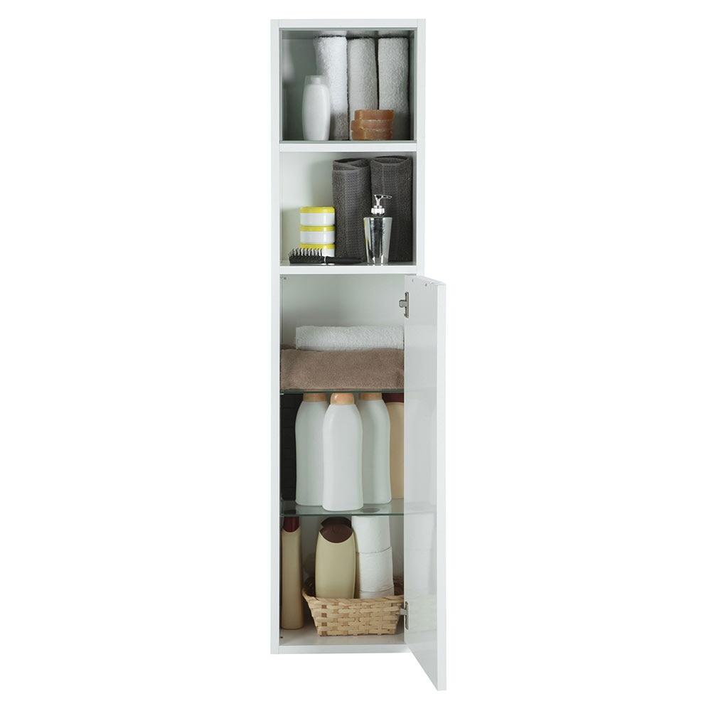 Mueble auxiliar de ba o serie terra columna ref 18374741 leroy merlin - Columna bano leroy merlin ...