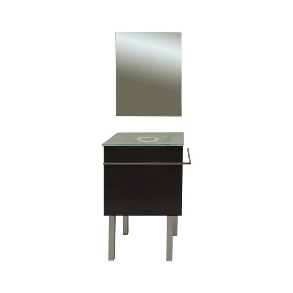 Conjunto de mueble de ba o vigo 50 negro ref 17520895 - Leroy merlin venta flash ...