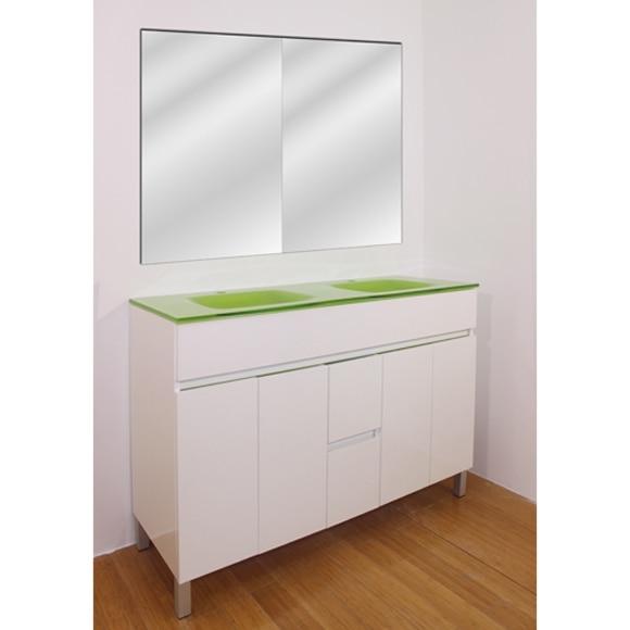 Muebles Baño Verde PistachoConjunto de mueble de baño MANHATTAN 120