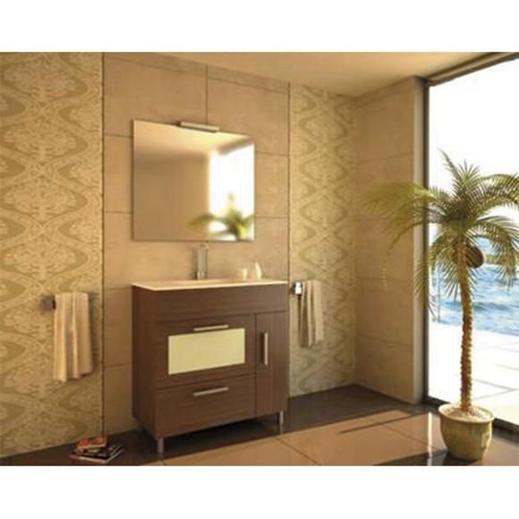 Conjunto de mueble de ba o sena 80 wengu ref 19127073 - Muebles de bano en cordoba ...