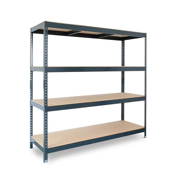 Estanter a met lica 4 niveles 200x200x70 450 kg ref - Medidas estanterias metalicas ...