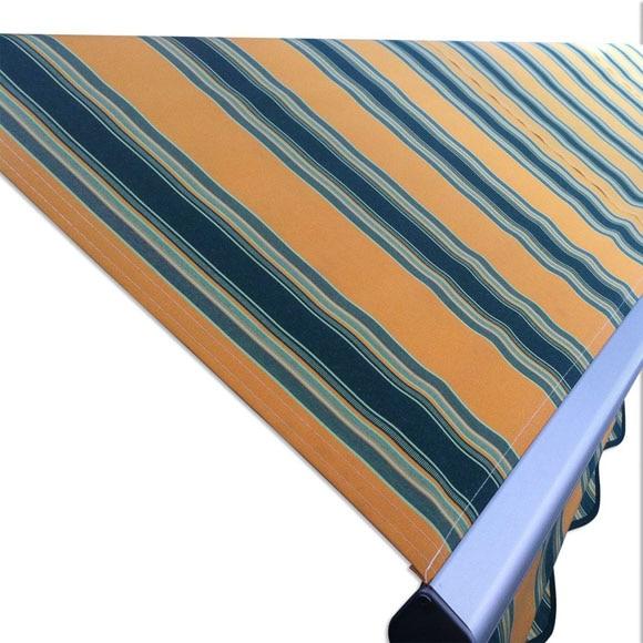 Toldo log manual naranja verde ref 19099563 leroy merlin - Tela toldo leroy merlin ...