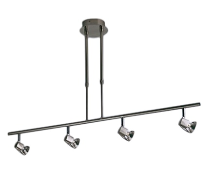 L mpara telesc pica arco 4 luces ref 16473114 leroy for Luces leroy merlin