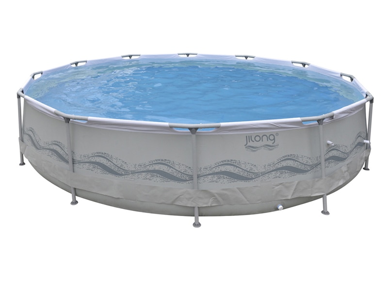 Piscina round steel ref 17402714 leroy merlin for Piscina 90cm altura