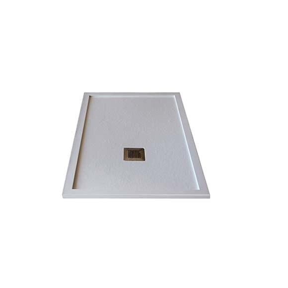 Plato de ducha pizarra 120x80 blanco ref 19517064 - Plato de ducha pizarra blanco ...