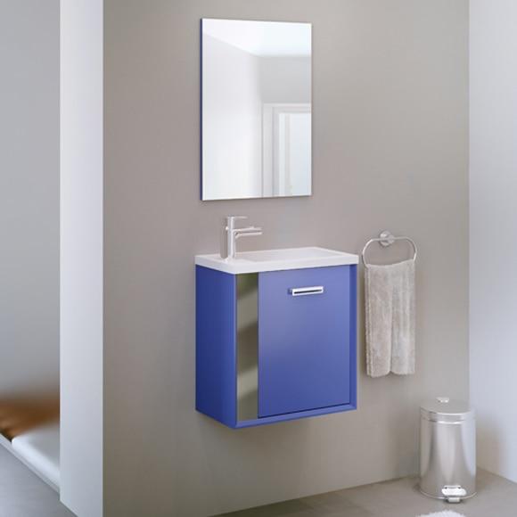 Conjunto de mueble de ba o jazz 40cm azul ref 19218094 for Muebles de bano azul