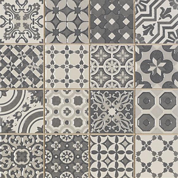 Mosaico de 24 x 24 cm decorado ref 19152140 leroy merlin - Piastrelle mosaico leroy merlin ...