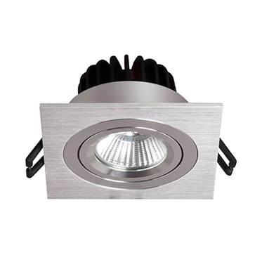 Empotrable de techo downlight led 9w redondo ref for Led sottopensile leroy merlin