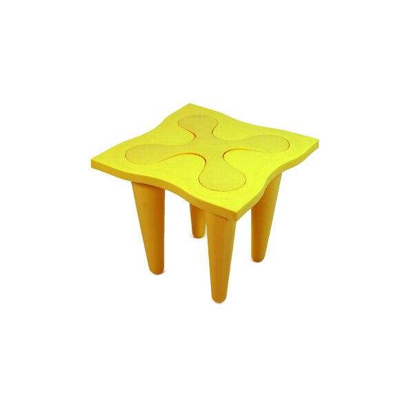 Mesa auxiliar flor amarillo ref 17124506 leroy merlin - Mesa auxiliar leroy merlin ...