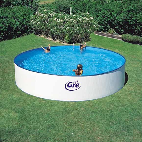 piscina gre redonda 350cm ref 19226494 leroy merlin