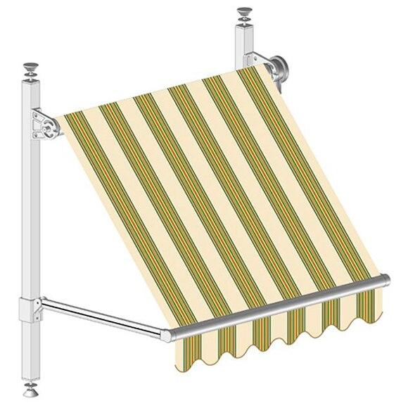 toldo corfu ventana manual ref 19922805 leroy merlin. Black Bedroom Furniture Sets. Home Design Ideas