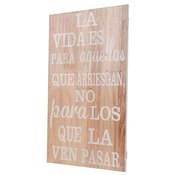 Cuadro madera vida ref 17925775 leroy merlin - Enmarcar cuadros leroy merlin ...
