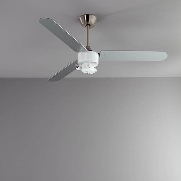 ventilador velo tulipa beige ref 19219074 leroy merlin. Black Bedroom Furniture Sets. Home Design Ideas