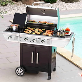- Barbacoa de gas BALTIMORE 10.5 KW