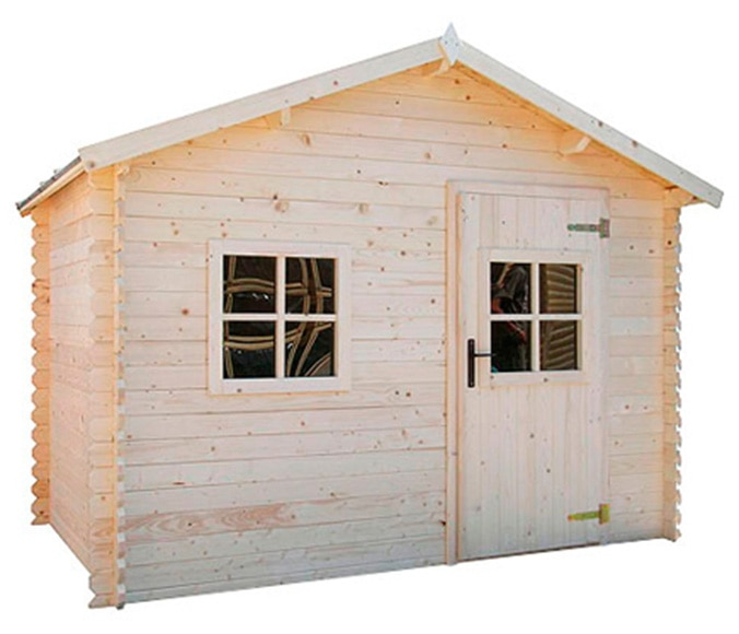 Para nuestra familia leroy caseta madera jardin for Casetas prefabricadas para jardin