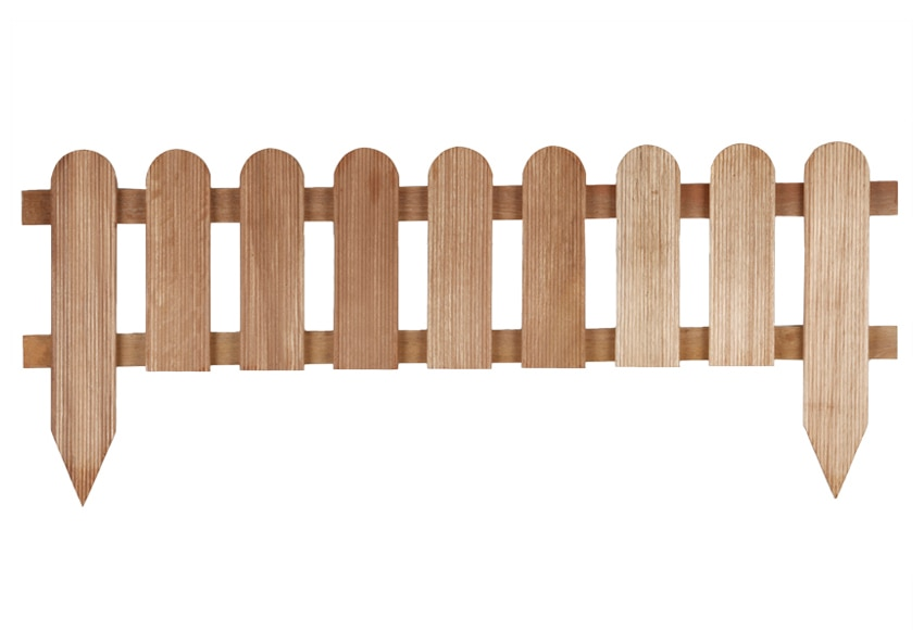 Bordura de madera bangkirai 110x28 45 cm ref 14686133 for Leroy merlin madera a medida