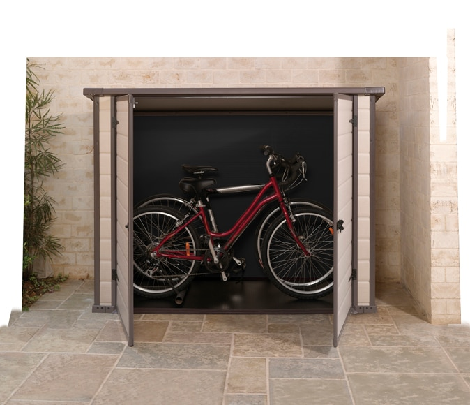 Cobertizo keter bike more ref 15037281 leroy merlin for Cobertizo leroy merlin