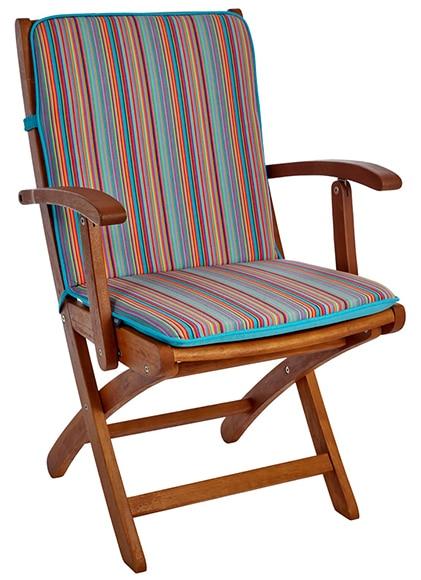 2 cojines para silla huelva turquesa ref 17385354 leroy - Cojines sillas leroy merlin ...