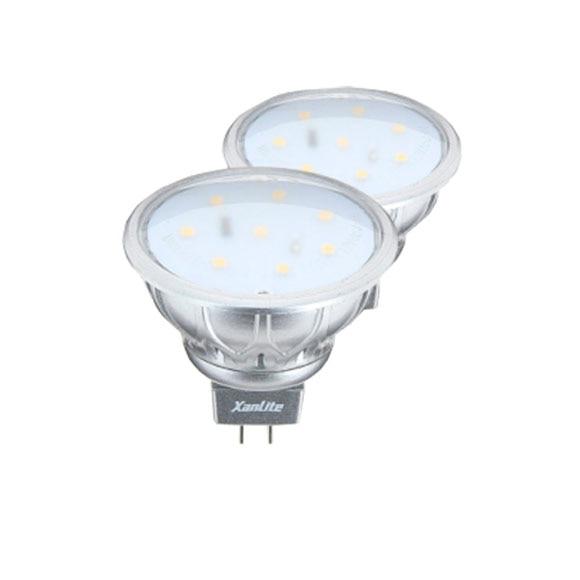 Pack 2 bombillas led reflectora gu5 3 ref 16358783 - Bombillas led leroy merlin ...
