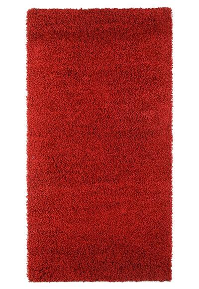 Alfombra shaggy rojo 133x190 ref 15757665 leroy merlin - Alfombras pelo largo leroy merlin ...