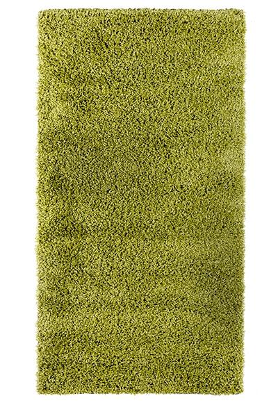 Alfombra shaggy verde 133x190 ref 15757686 leroy merlin - Alfombras pelo largo leroy merlin ...