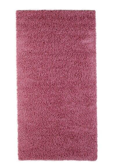 alfombra shaggy fucsia 160x230 ref 15757812 leroy merlin