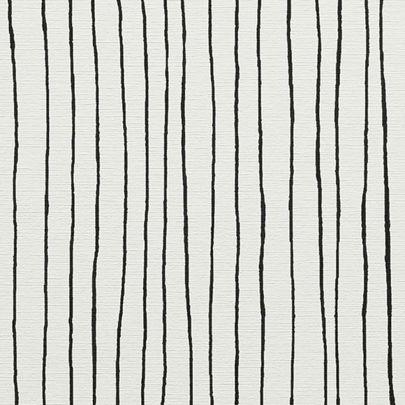 Papel pintado vin lico linea blanco y negro ref 13511750 for Rollo papel vinilico
