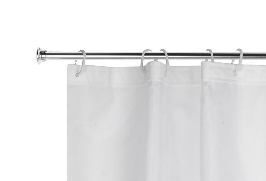 Barra para la cortina de la ducha sensea extensible ref - Barra cortina extensible leroy merlin ...