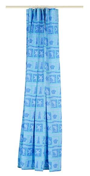 Cortinas De Baño Azul:Cortina de baño ABYSSE AZUL Ref 14976136 – Leroy Merlin