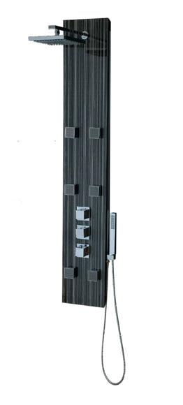 Columna de hidromasaje ducha loft ref 14625562 leroy merlin for Columna ducha leroy merlin