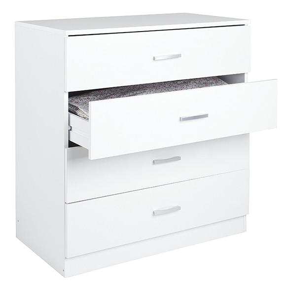 C moda comoda 4 cajones blanca ref 16998513 leroy merlin - Leroy merlin dormitorios ...