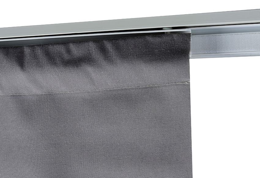 Pa o para panel japon s resinado gris ref 15715756 for Riel panel japones leroy merlin