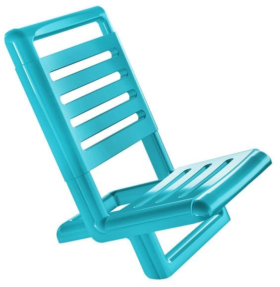 Silla playa azul ref 15686783 leroy merlin - Sillas playa leroy merlin ...