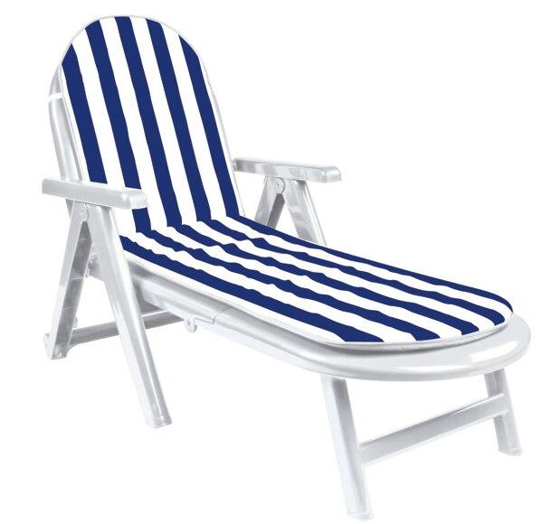 Tumbona reclinable ref 15816115 leroy merlin - Tumbonas plegables leroy merlin ...