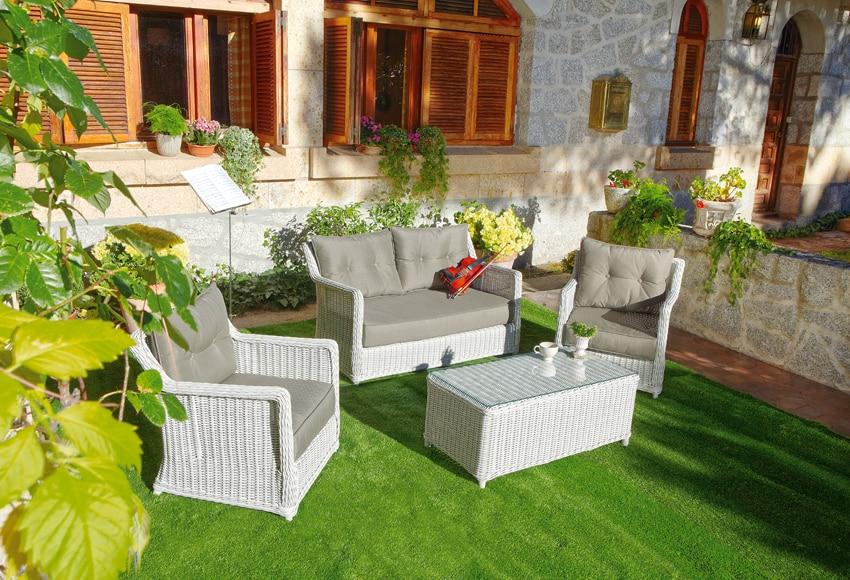 Mesa porche sofa trenz montecarlo ref 16564513 leroy merlin - Porches leroy merlin ...