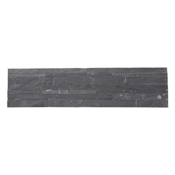 Plaqueta con acabado laja piedra natural fina negra ref 14724941 leroy merlin - Leroy merlin jardin piedras calais ...
