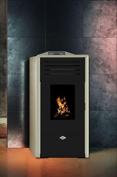 Estufa de pellets de aire last calor sira maiolica ref - Estufa de calor ...