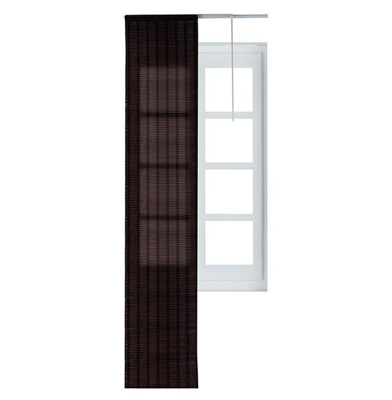 Panel japon s bamb marr n ref 15715602 leroy merlin for Riel panel japones leroy merlin