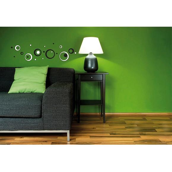 foam black white circle ref 16754290 leroy merlin. Black Bedroom Furniture Sets. Home Design Ideas