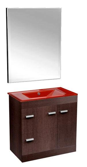 conjunto de mueble de baño motril 80 cm ref. 14871052 - leroy merlin - Muebles De Bano Barcelona