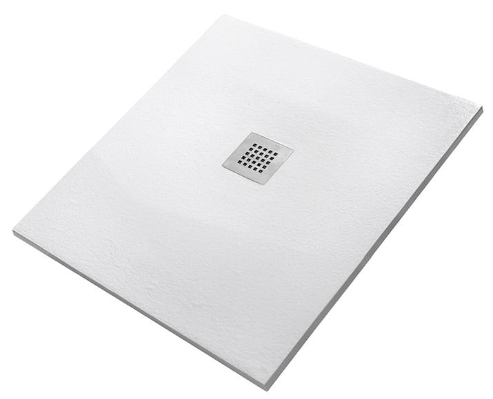Plato de ducha carga mineral strato rectangular ref 16546523 leroy merlin - Plato de ducha leroy merlin ...