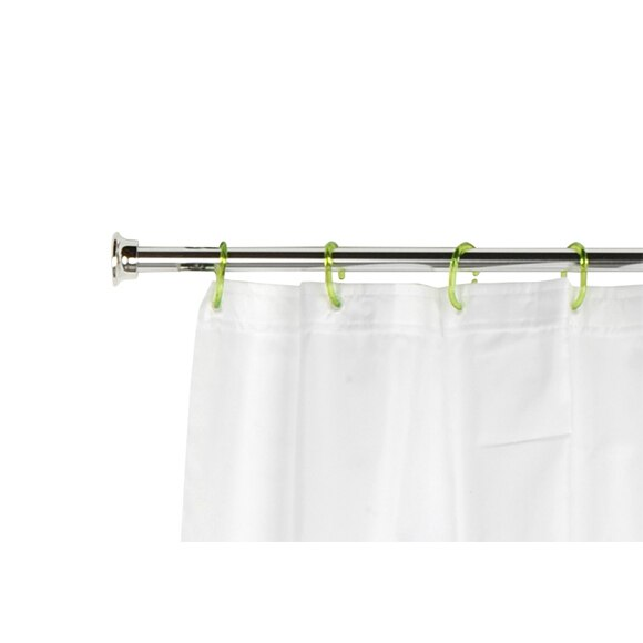 Barra para la cortina de la ducha sensea extensible - Barras de cortinas extensibles ...
