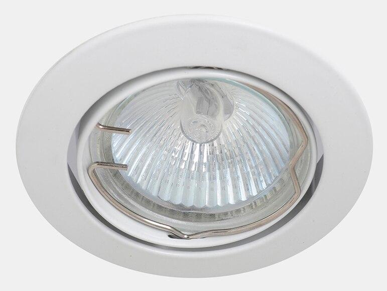 Foco empotrable orientable redondo hal geno ref 14615174 - Focos de techo leroy merlin ...